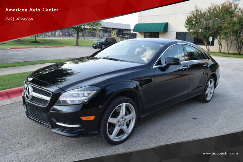 2014 Mercedes-Benz CLS for sale at American Auto Center in Austin TX