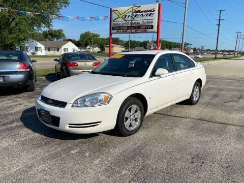 2007 Chevrolet Impala for sale at DiGiovanni's Xtreme Auto & Cycle Sales in Machesney Park IL