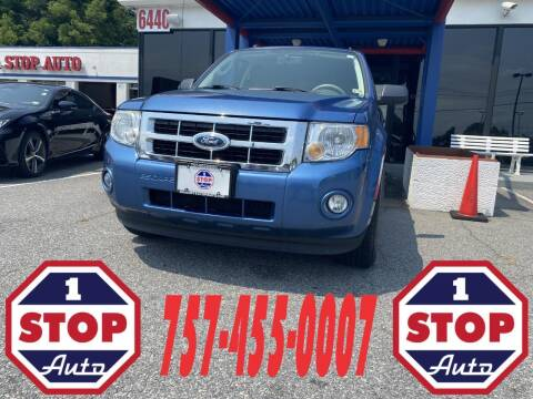 2009 Ford Escape for sale at 1 Stop Auto in Norfolk VA