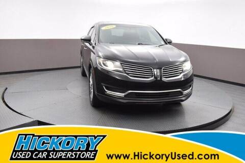 2018 Lincoln MKX for sale at Hickory Used Car Superstore in Hickory NC