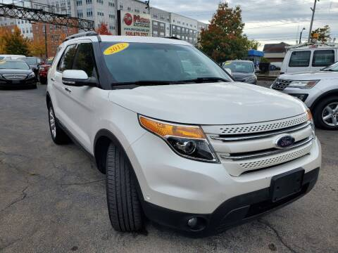 2012 Ford Explorer for sale at Mass Auto Exchange in Framingham MA