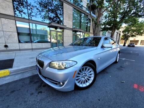 2013 BMW 5 Series for sale at PRESTIGE PRE OWNED INC in Campbell CA