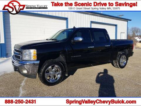 2011 Chevrolet Silverado 1500 for sale at Spring Valley Chevrolet Buick in Spring Valley MN