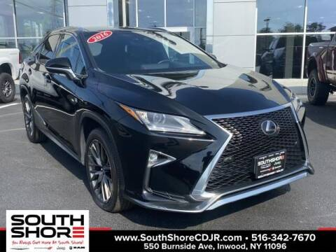 2016 Lexus RX 350 for sale at South Shore Chrysler Dodge Jeep Ram in Inwood NY