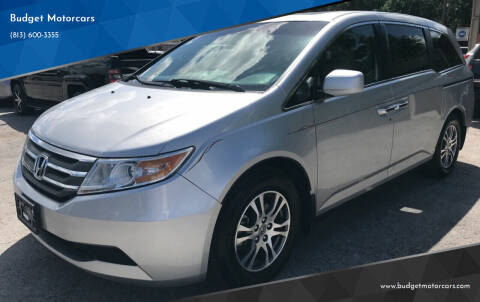 2011 Honda Odyssey for sale at Budget Motorcars in Tampa FL