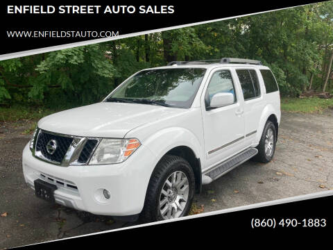 2010 Nissan Pathfinder for sale at ENFIELD STREET AUTO SALES in Enfield CT