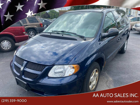 2003 Dodge Grand Caravan for sale at AA Auto Sales Inc. in Gary IN
