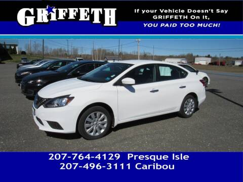 2017 Nissan Sentra for sale at Griffeth Mitsubishi - Pre-owned in Caribou ME