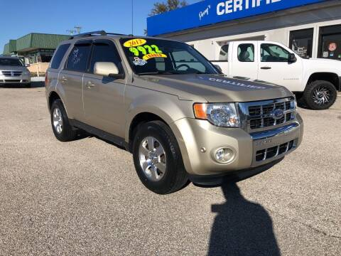 2012 Ford Escape for sale at Perrys Certified Auto Exchange in Washington IN
