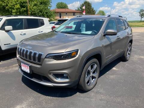 2020 Jeep Cherokee for sale at Louisburg Garage, Inc. in Cuba City WI