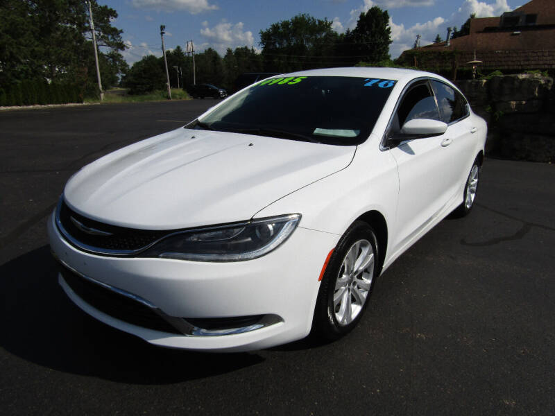 2016 Chrysler 200 for sale at Mike Federwitz Autosports, Inc. in Wisconsin Rapids WI