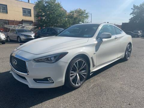 2018 Infiniti Q60 for sale at LUXURY OF QUEENS,INC in Long Island City NY