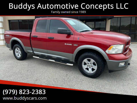 2010 Dodge Ram Pickup 1500 for sale at Buddys Automotive Concepts LLC in Bryan TX