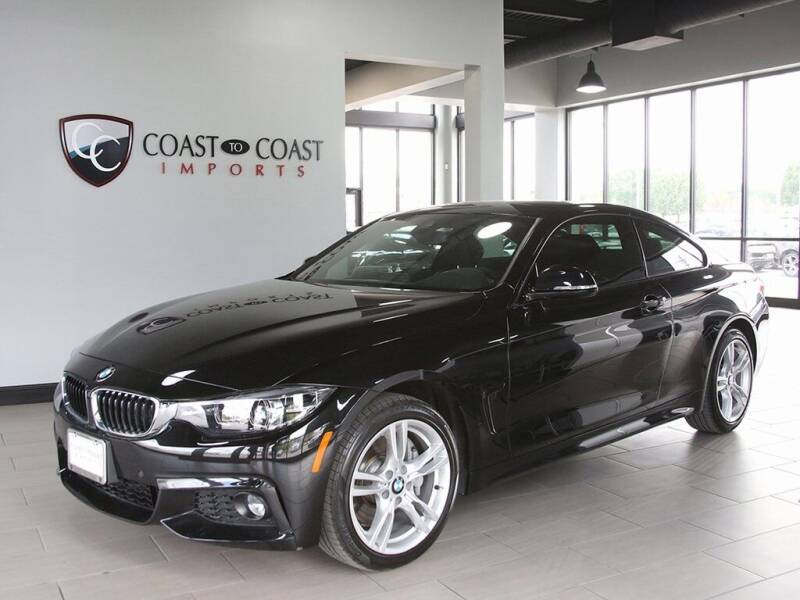 2019 BMW 4 Series for sale at Coast to Coast Imports in Fishers IN