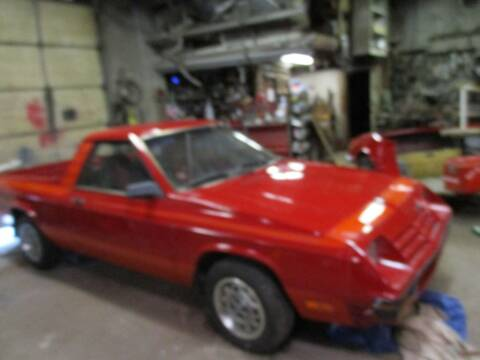 1982 Dodge Rampage for sale at Marshall Motors Classics in Jackson MI