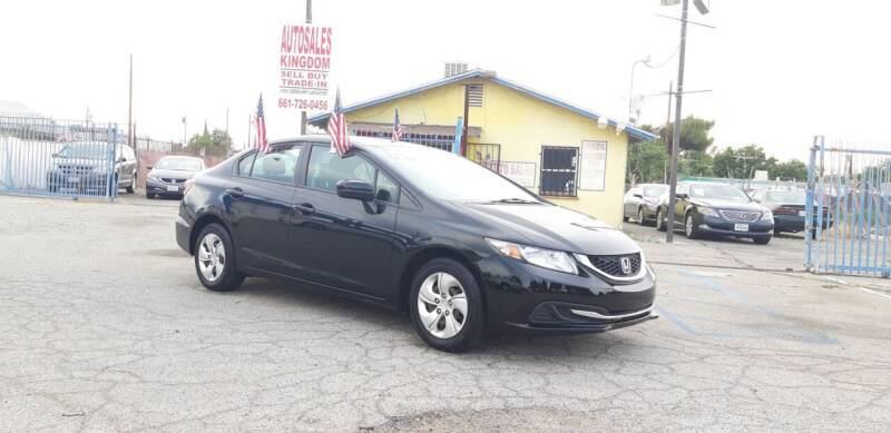 2013 Honda Civic for sale at Autosales Kingdom in Lancaster CA