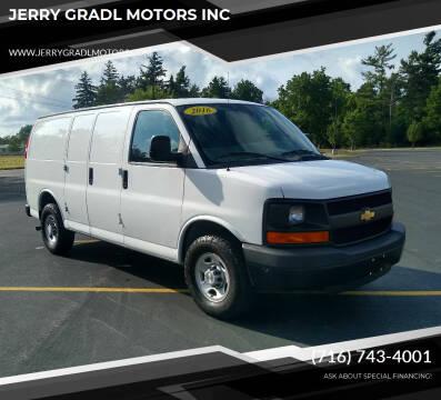 2016 Chevrolet Express Cargo for sale at JERRY GRADL MOTORS INC in North Tonawanda NY
