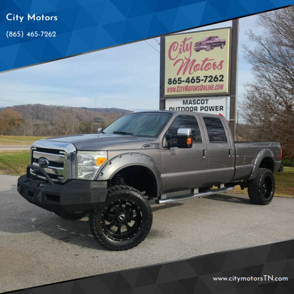 2012 Ford F-350 Super Duty for sale at City Motors in Mascot TN