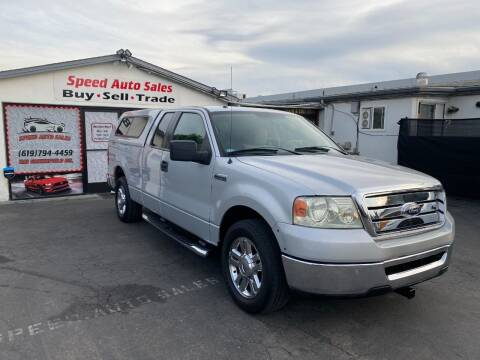 2008 Ford F-150 for sale at Speed Auto Sales in El Cajon CA