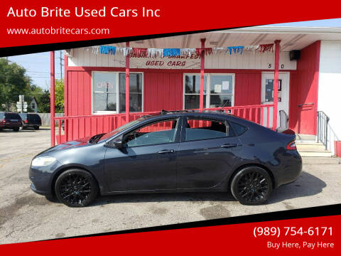2013 Dodge Dart for sale at Auto Brite Used Cars Inc in Saginaw MI