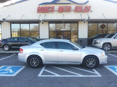 2010 Dodge Avenger for sale at DOUG'S AUTO SALES INC in Pleasant View TN