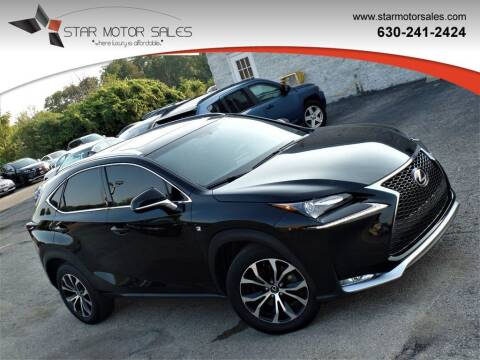 2015 Lexus NX 200t for sale at Star Motor Sales in Downers Grove IL