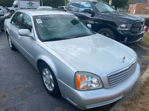 2002 Cadillac DeVille for sale at Right Place Auto Sales in Indianapolis IN