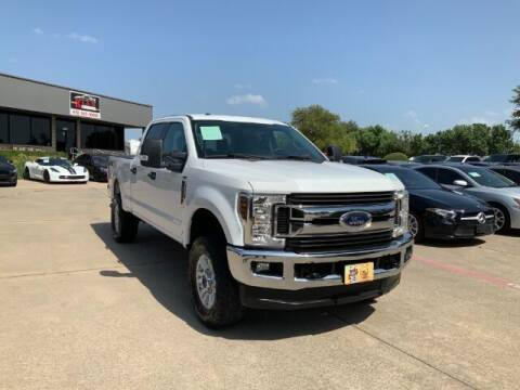 2018 Ford F-250 Super Duty for sale at KIAN MOTORS INC in Plano TX