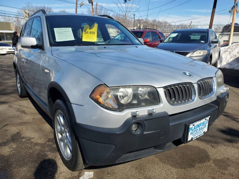 2004 BMW X3 for sale at New Plainfield Auto Sales in Plainfield NJ