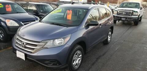 2013 Honda CR-V for sale at Howe's Auto Sales in Lowell MA