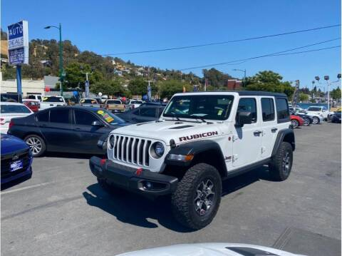 2020 Jeep Wrangler Unlimited for sale at AutoDeals in Hayward CA