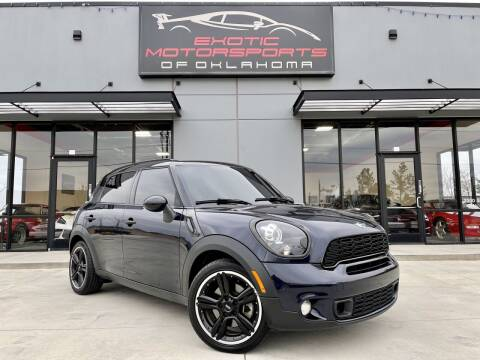 2012 MINI Cooper Countryman for sale at Exotic Motorsports of Oklahoma in Edmond OK