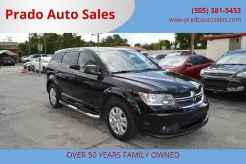 2014 Dodge Journey for sale at Prado Auto Sales in Miami FL