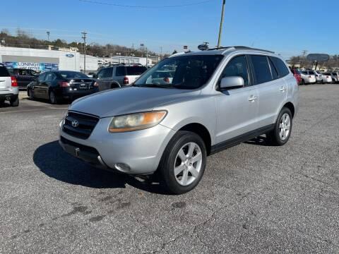 2007 Hyundai Santa Fe for sale at Hillside Motors Inc. in Hickory NC