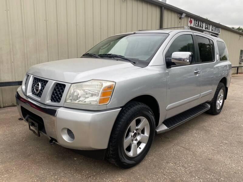 2004 Nissan Armada for sale at Texas Car Center in Dallas TX