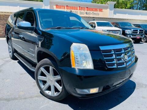 2008 Cadillac Escalade ESV for sale at North Georgia Auto Brokers in Snellville GA