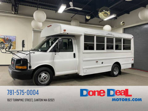 2016 GMC Savana Cutaway for sale at DONE DEAL MOTORS in Canton MA