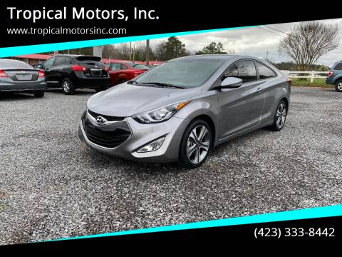 2014 Hyundai Elantra Coupe for sale at Tropical Motors, Inc. in Riceville TN