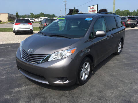 2017 Toyota Sienna for sale at JACK'S AUTO SALES in Traverse City MI