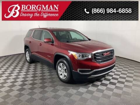 2018 GMC Acadia for sale at BORGMAN OF HOLLAND LLC in Holland MI