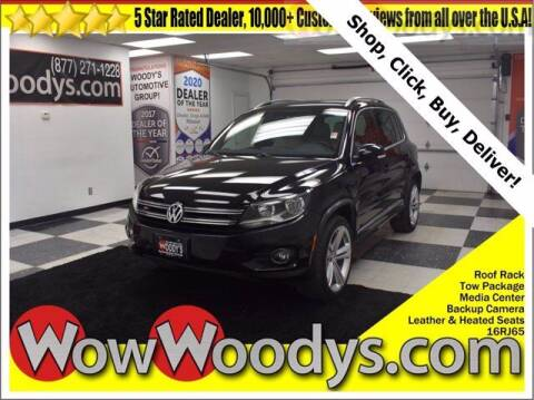 2016 Volkswagen Tiguan for sale at WOODY'S AUTOMOTIVE GROUP in Chillicothe MO