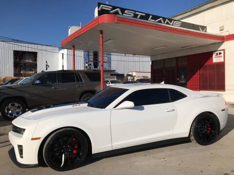 2014 Chevrolet Camaro for sale at FAST LANE AUTO SALES in San Antonio TX