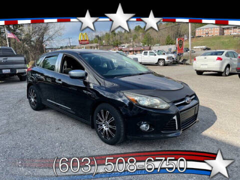 2012 Ford Focus for sale at J & E AUTOMALL in Pelham NH