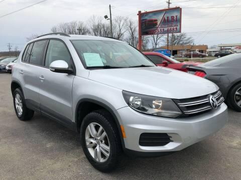 2015 Volkswagen Tiguan for sale at Albi Auto Sales LLC in Louisville KY