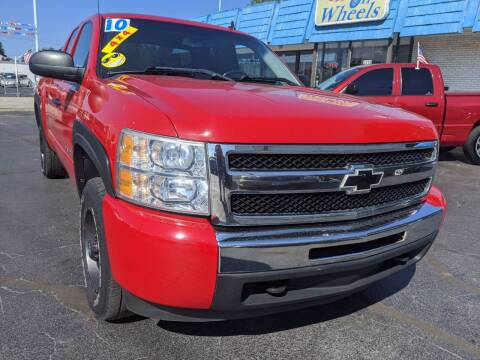 2010 Chevrolet Silverado 1500 for sale at GREAT DEALS ON WHEELS in Michigan City IN