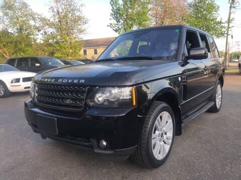 2012 Land Rover Range Rover for sale at RT28 Motors in North Reading MA