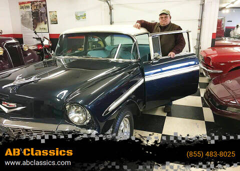 1956 Chevrolet Bel Air for sale at AB Classics in Malone NY