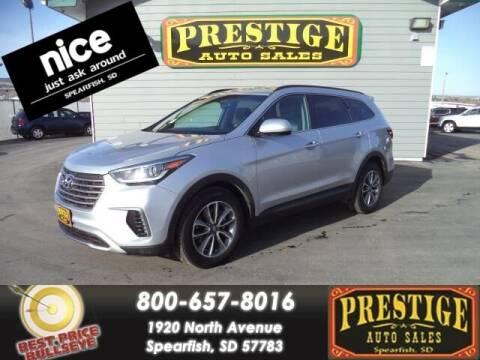 2017 Hyundai Santa Fe for sale at PRESTIGE AUTO SALES in Spearfish SD