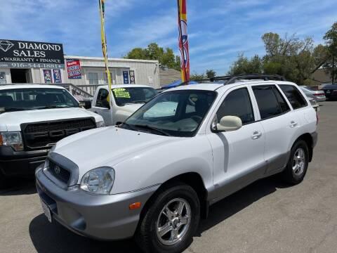 2002 Hyundai Santa Fe for sale at Black Diamond Auto Sales Inc. in Rancho Cordova CA