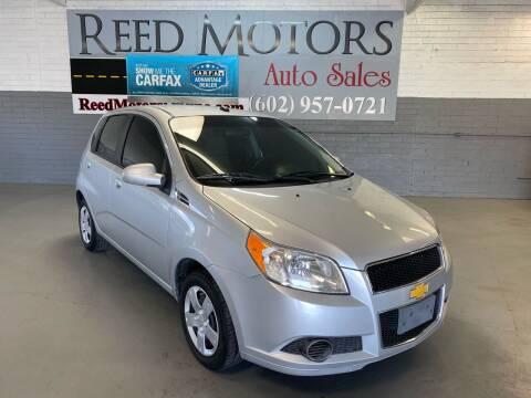 2011 Chevrolet Aveo for sale at REED MOTORS LLC in Phoenix AZ